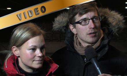 Tuija Rosenqvist ja Aki Karhapää haastattelussa
