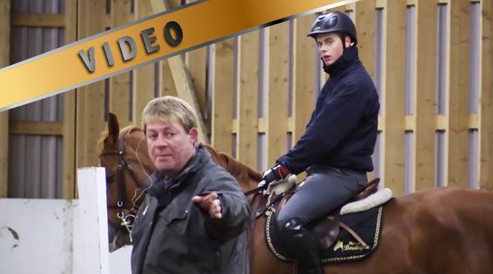 Kari Nevala estevalmennus – pidätteet suoralla hevosella