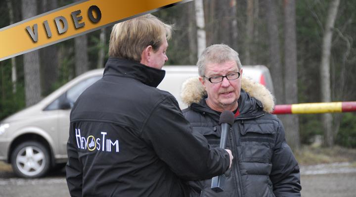 Pekka Larsen haastattelussa @ Ypäjä Arctic Show -14