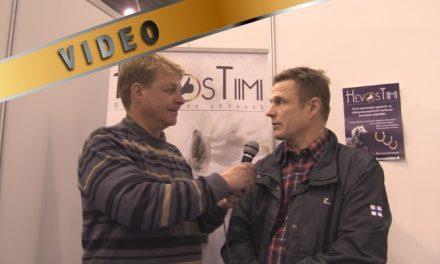 Karl Fazer haastattelussa @hevosmessut -14