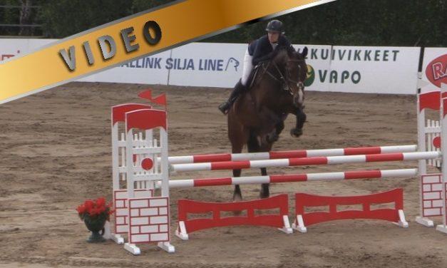 @Salo Horse Show 110cm aluekilpailu 26.6.2014