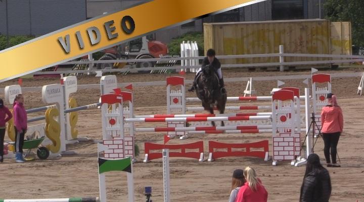 @Salo Horse Show kansallinen 120cm A&B 27.6.2014