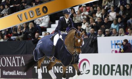Lehdistötilaisuus Helsinki Horse Show Kouluratsastuksen Knock-Out