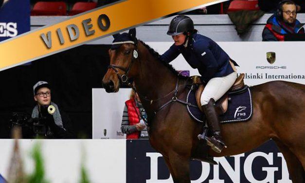 Kuuman hevosen treeni – Esteharjoituksia